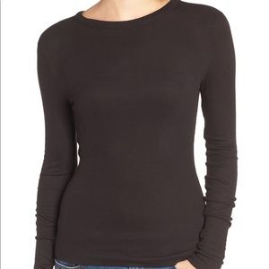 Nordstrom ribbed long sleeve shirt